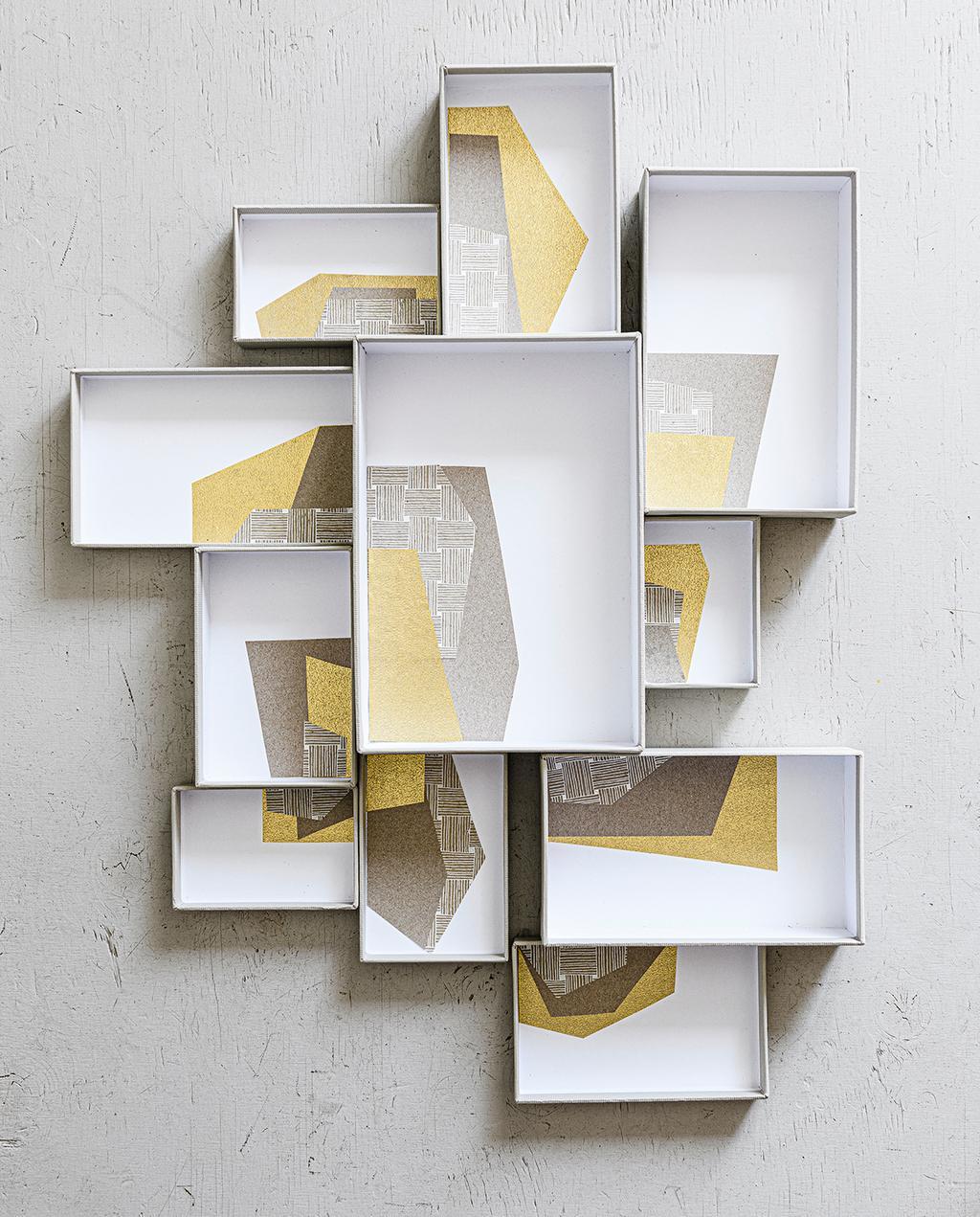 vtwonen 2020 DIY special 02 | papieren opbergboxen