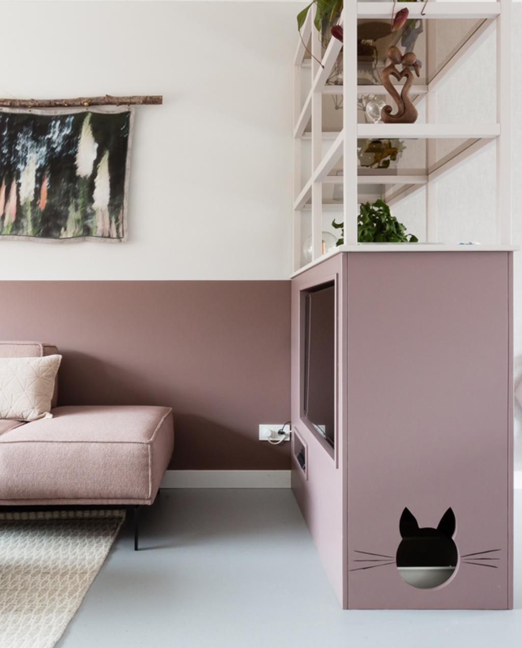 DIY kattenmand in de metamorfose van Weer verliefd op je Huis