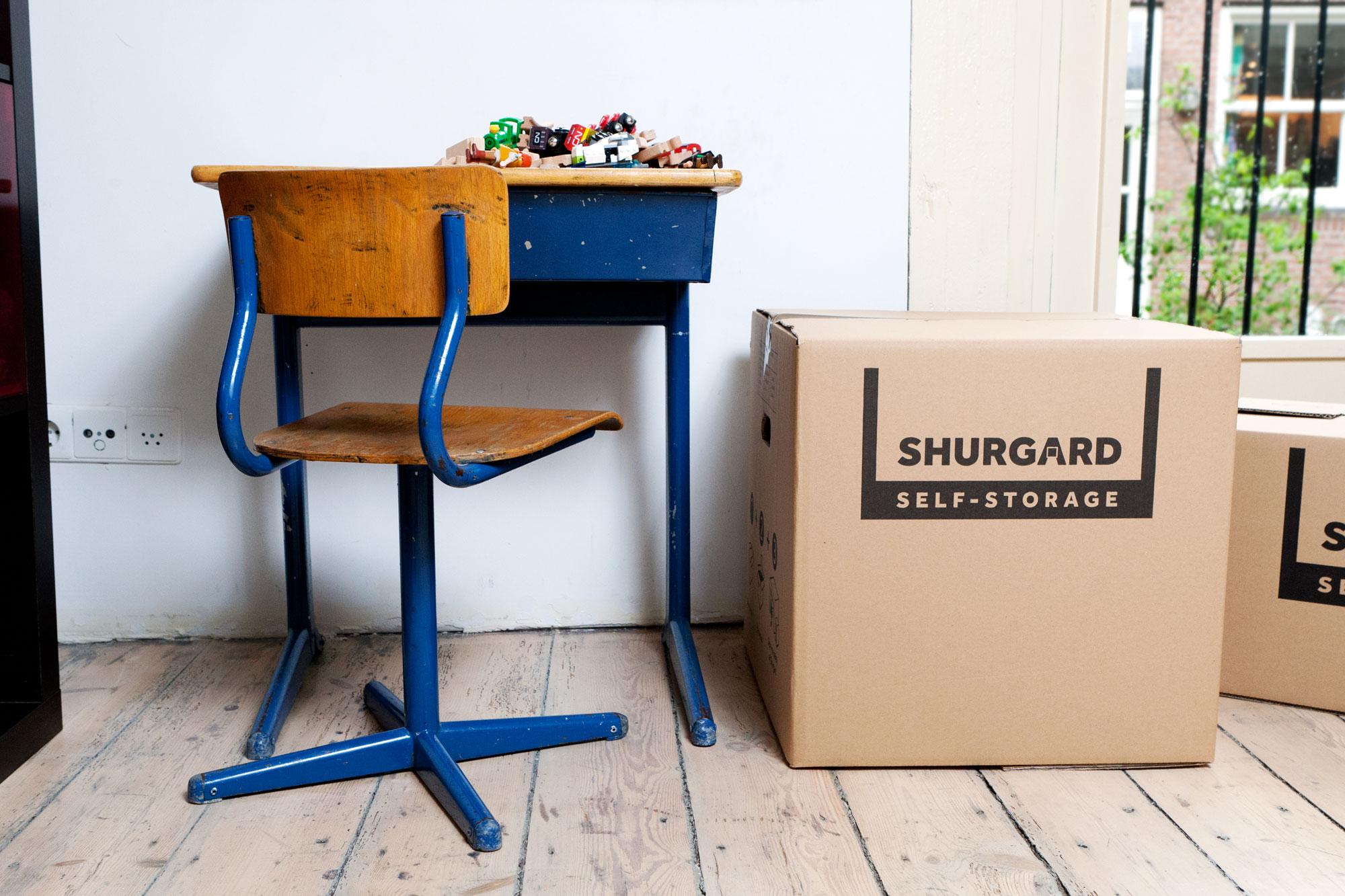 Opbergers kleine ruimte Shurgard