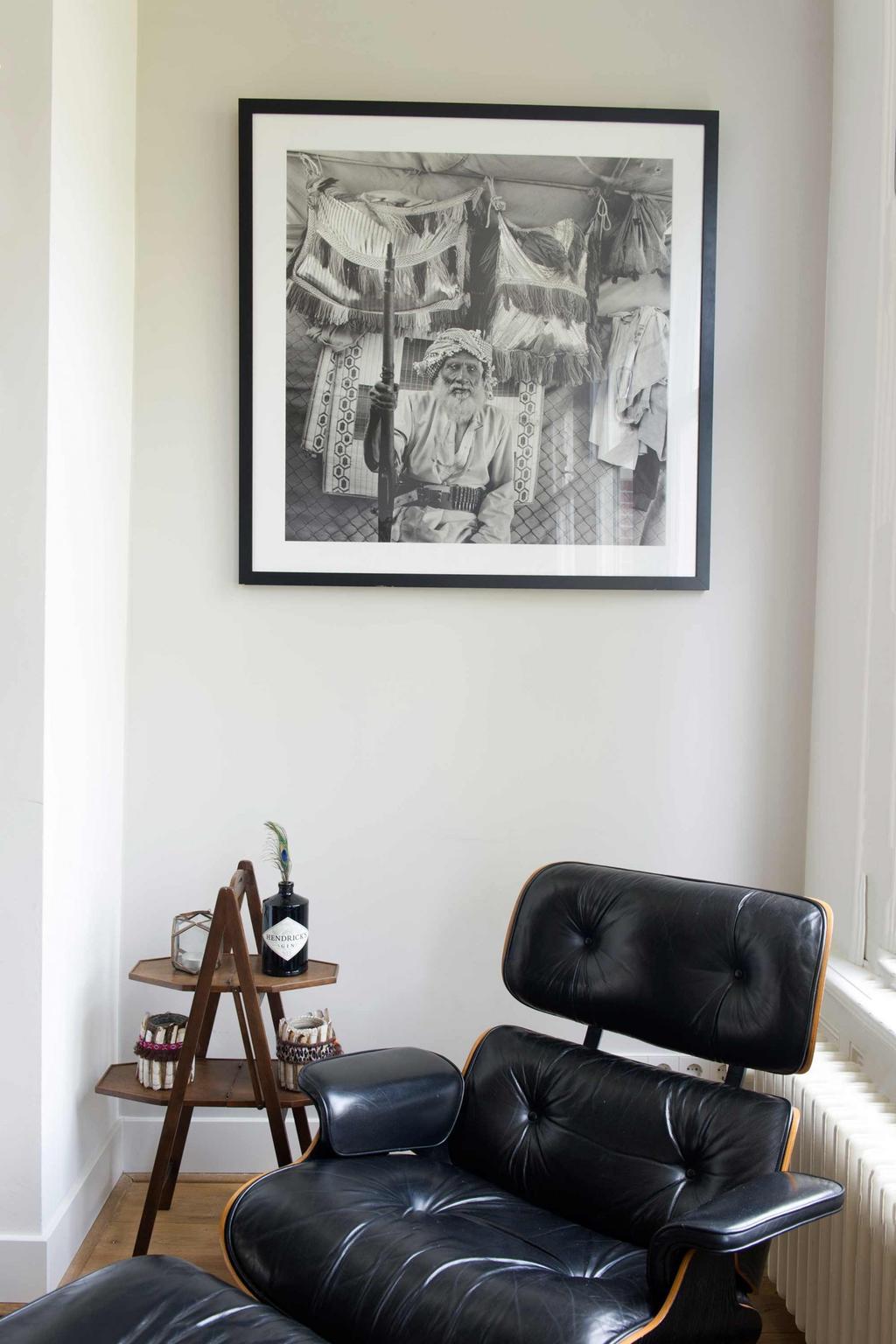 chaise longue cuir noir