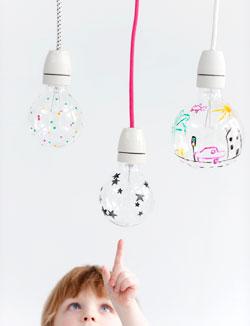 Lampjes maken