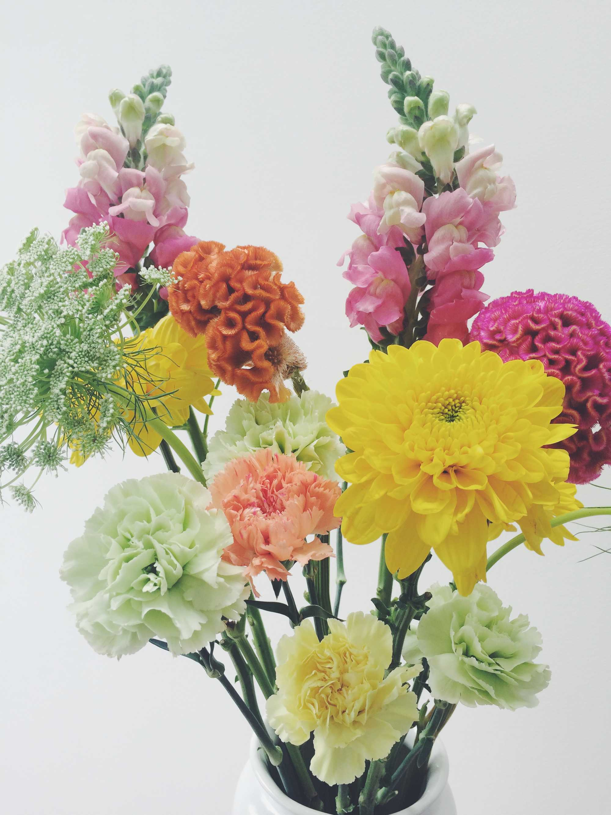 bloemen kleur paasboeket