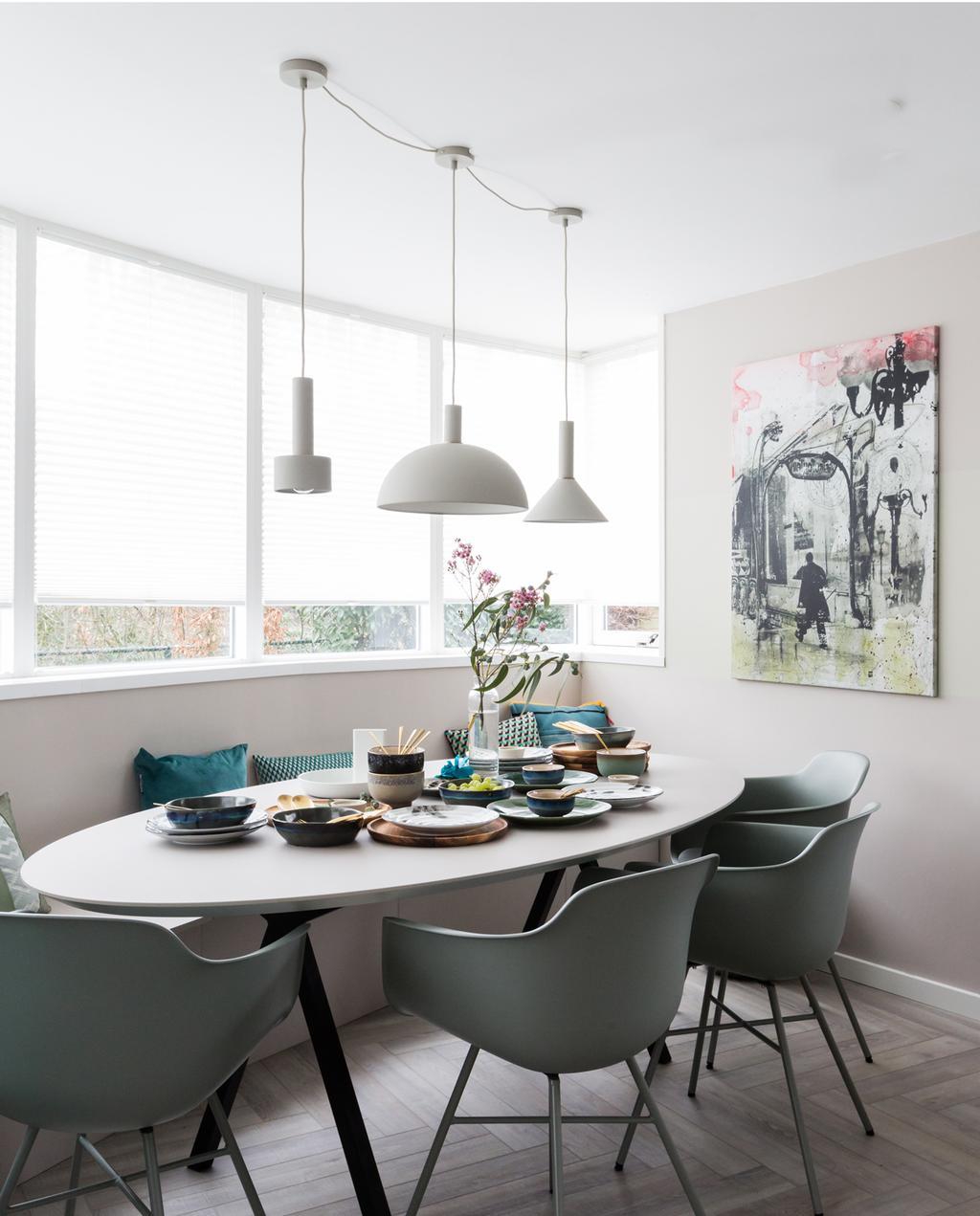 vtwonen weer verliefd op je huis | seizoen 12 aflevering 1 | Frans in Den Bosch | eethoek