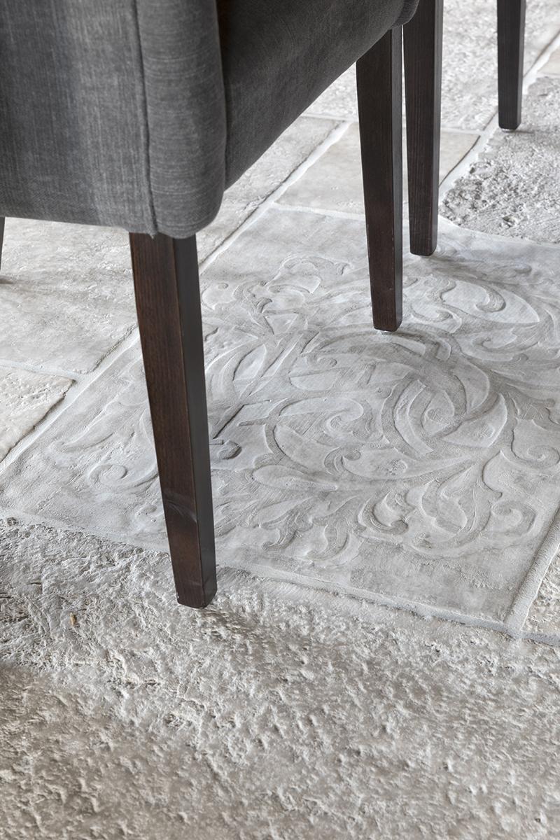 vloer landelijk kleur en sfeer castle stones detail