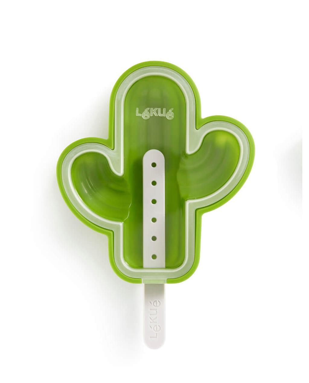 zomerboek 08-2020 | groene ijsvorm in de vorm van een cactus