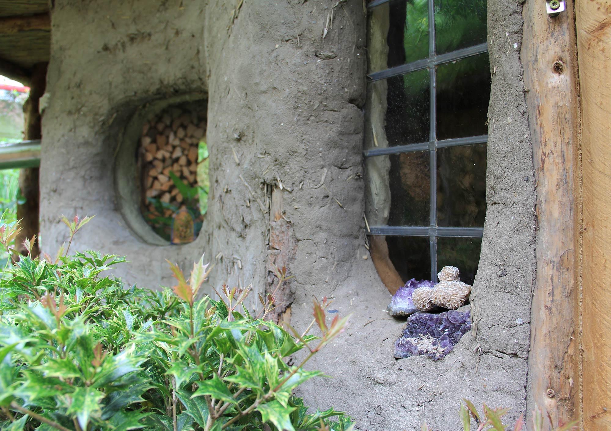 tuinhuisje van cob