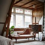 slaapkamer tapijt ligbank