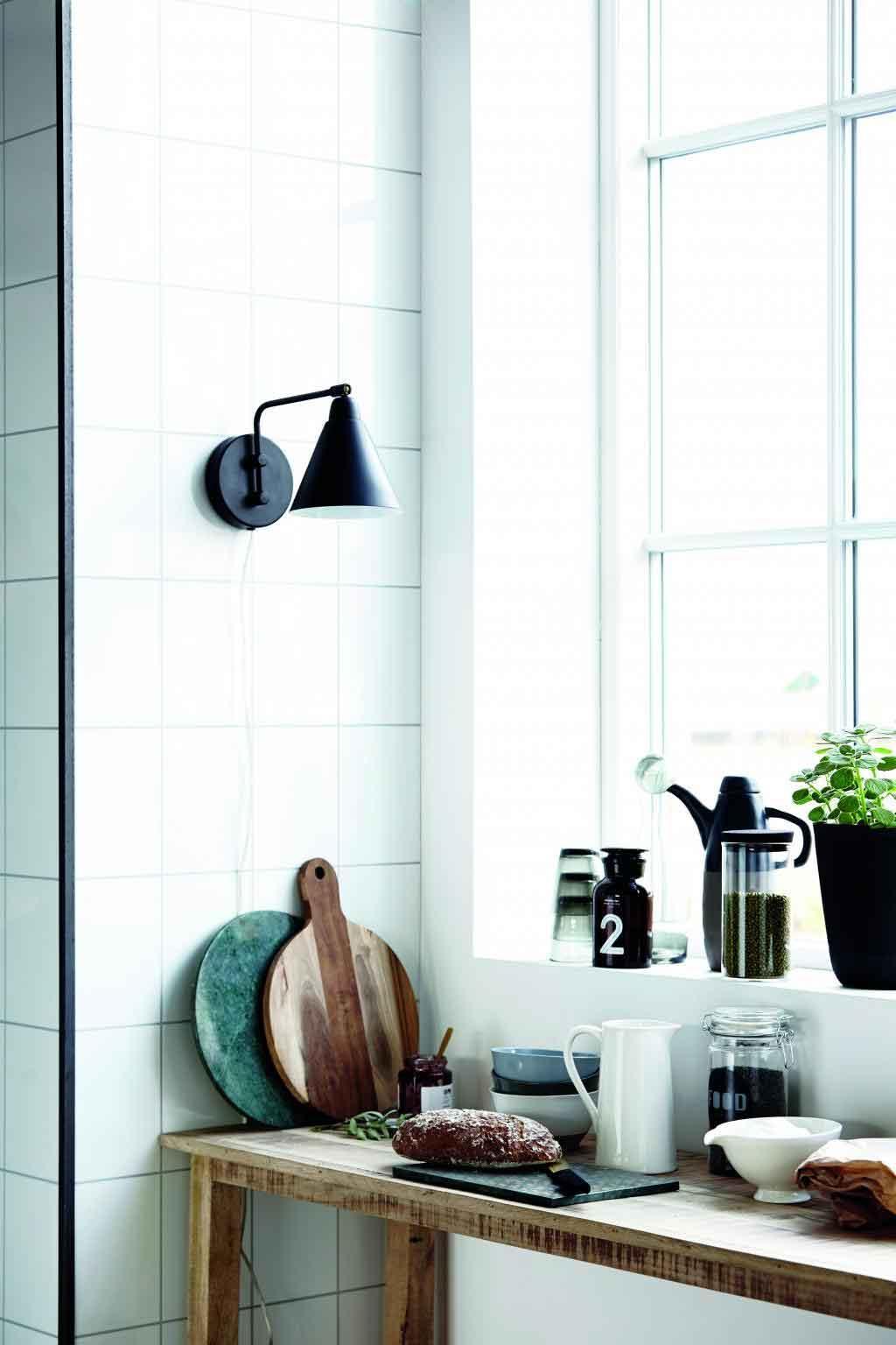 Voor aan de wand: industriële lampjes - House Doctor - vtwonen