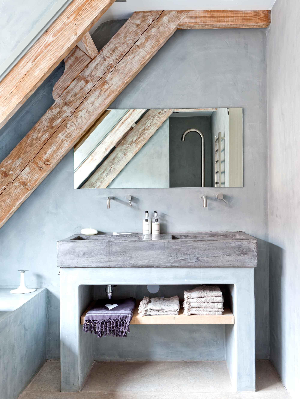 badkamer kiezen, beton