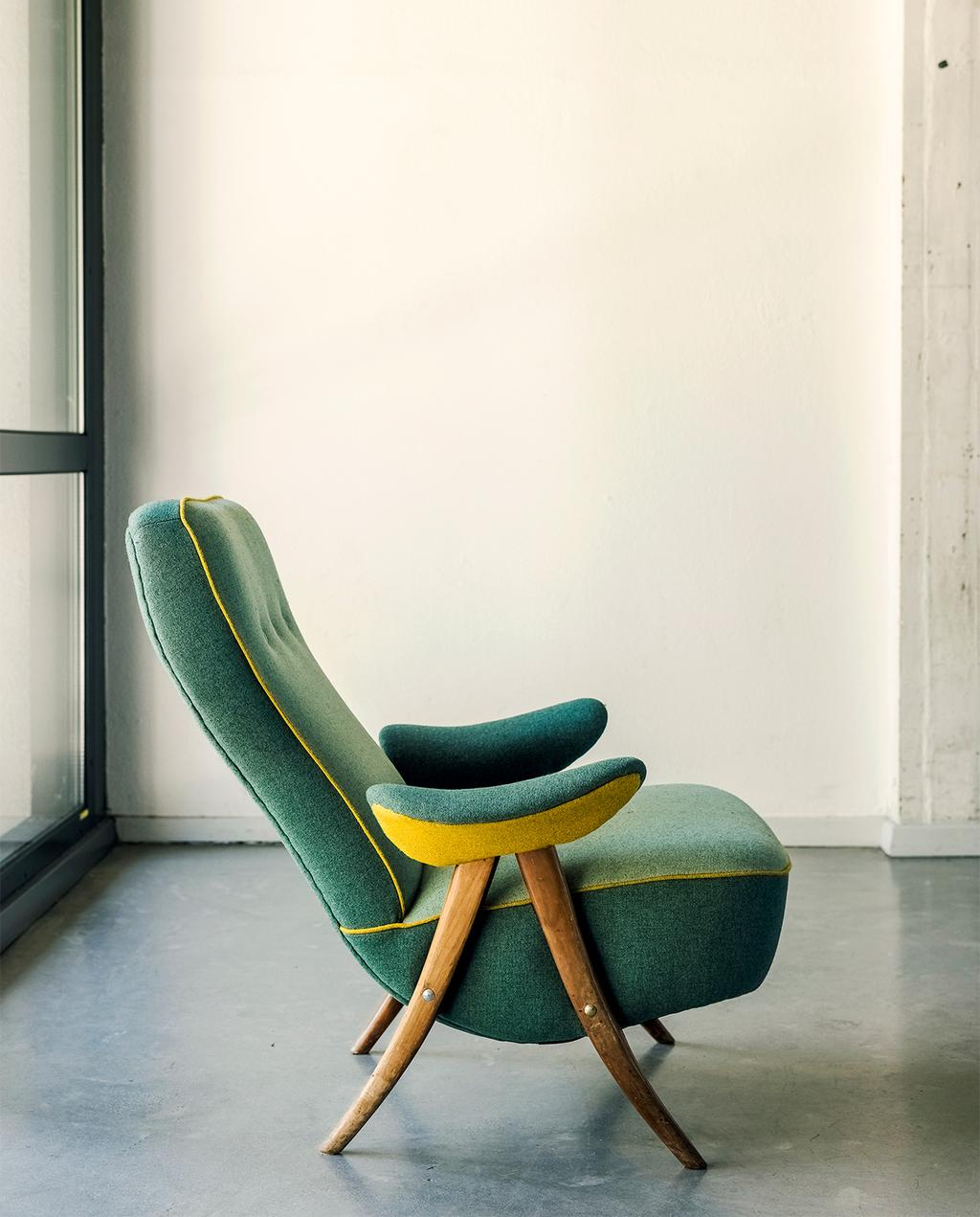 vtwonen 08-2021 | een groene fauteuil