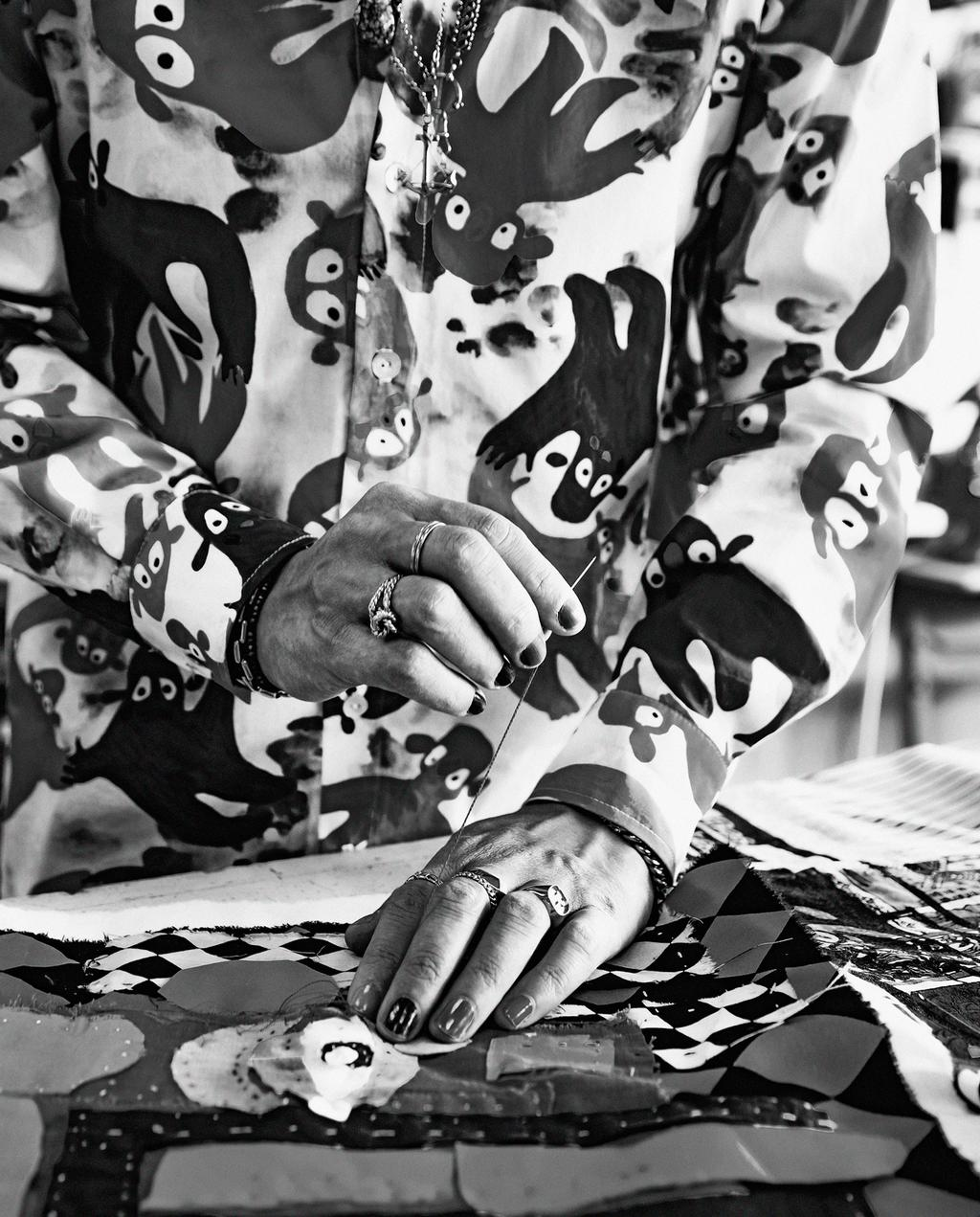 zwart wit foto handwerk