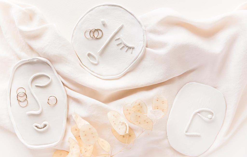 Schaaltje van klei | DIY | vtwonen 01-2021 | DIY voor moederdag