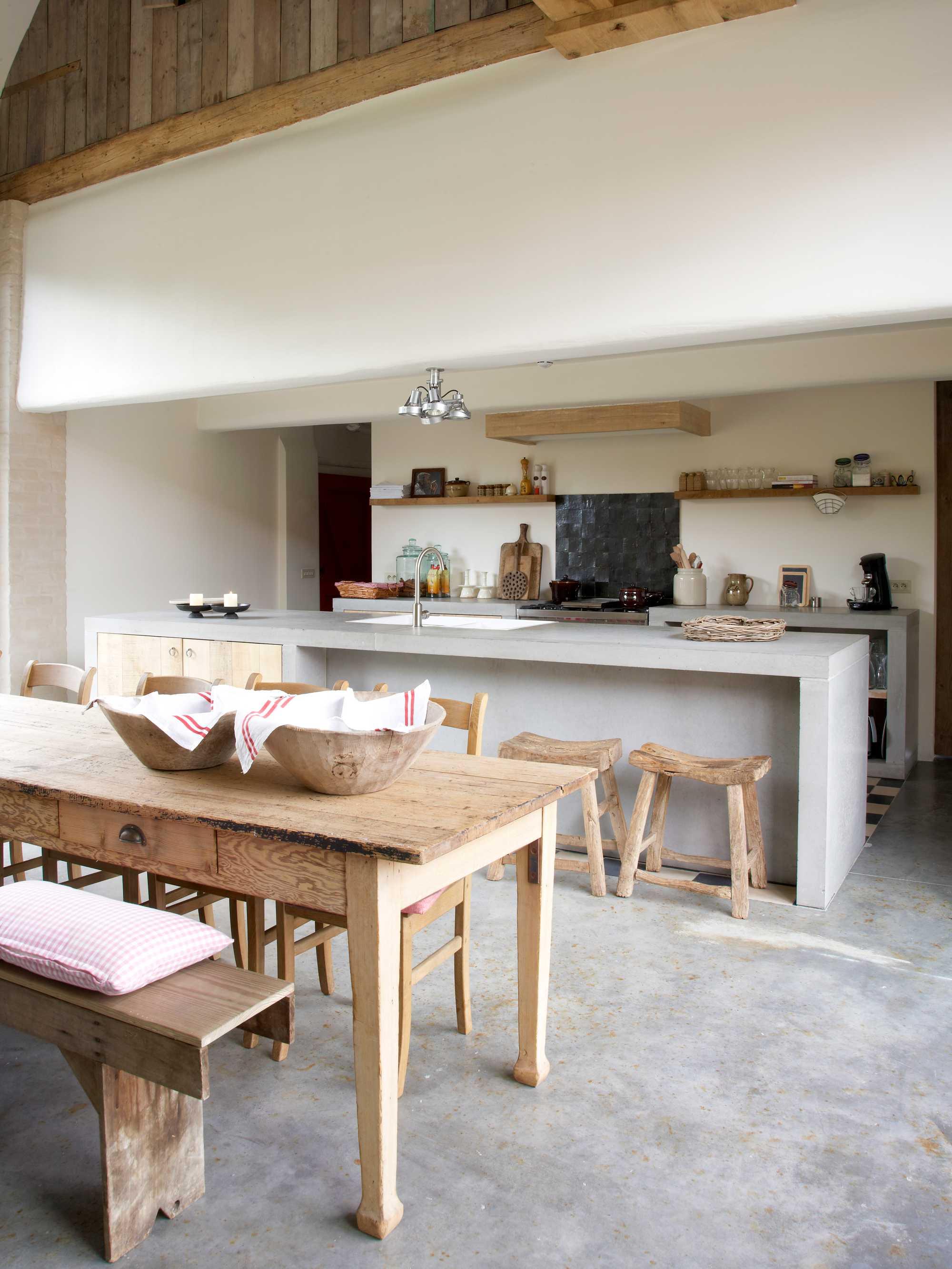 landelijke keuken heerlijkheid van marrem legplanken accessoires
