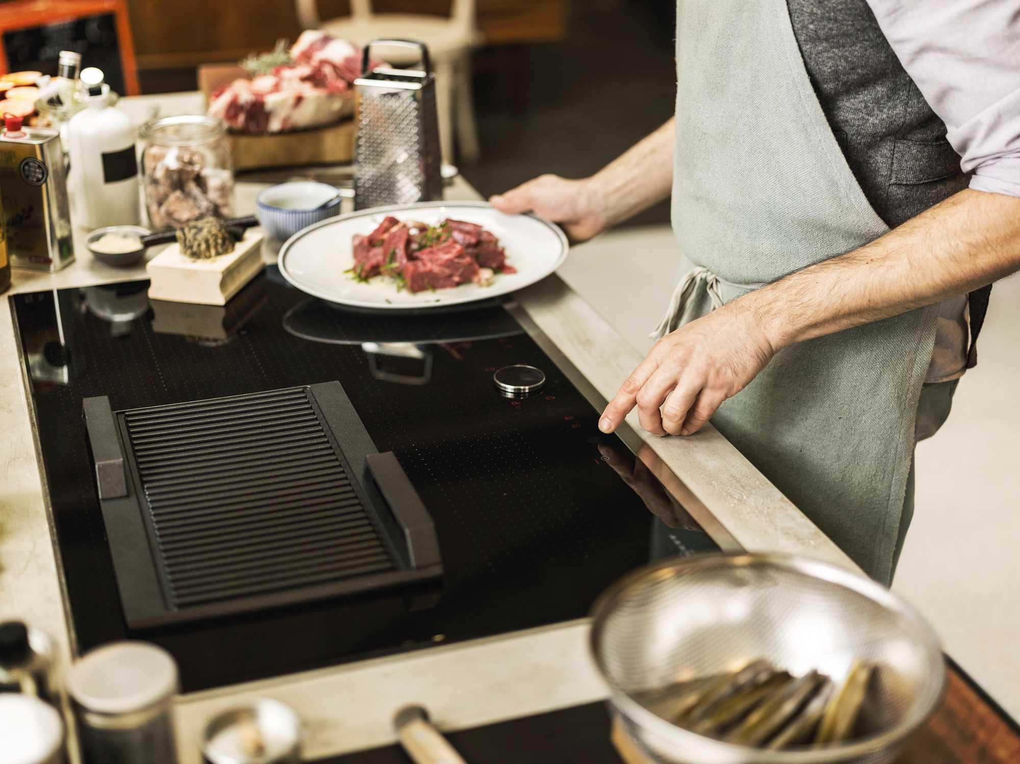 keuken koken kookplaten gas inductie