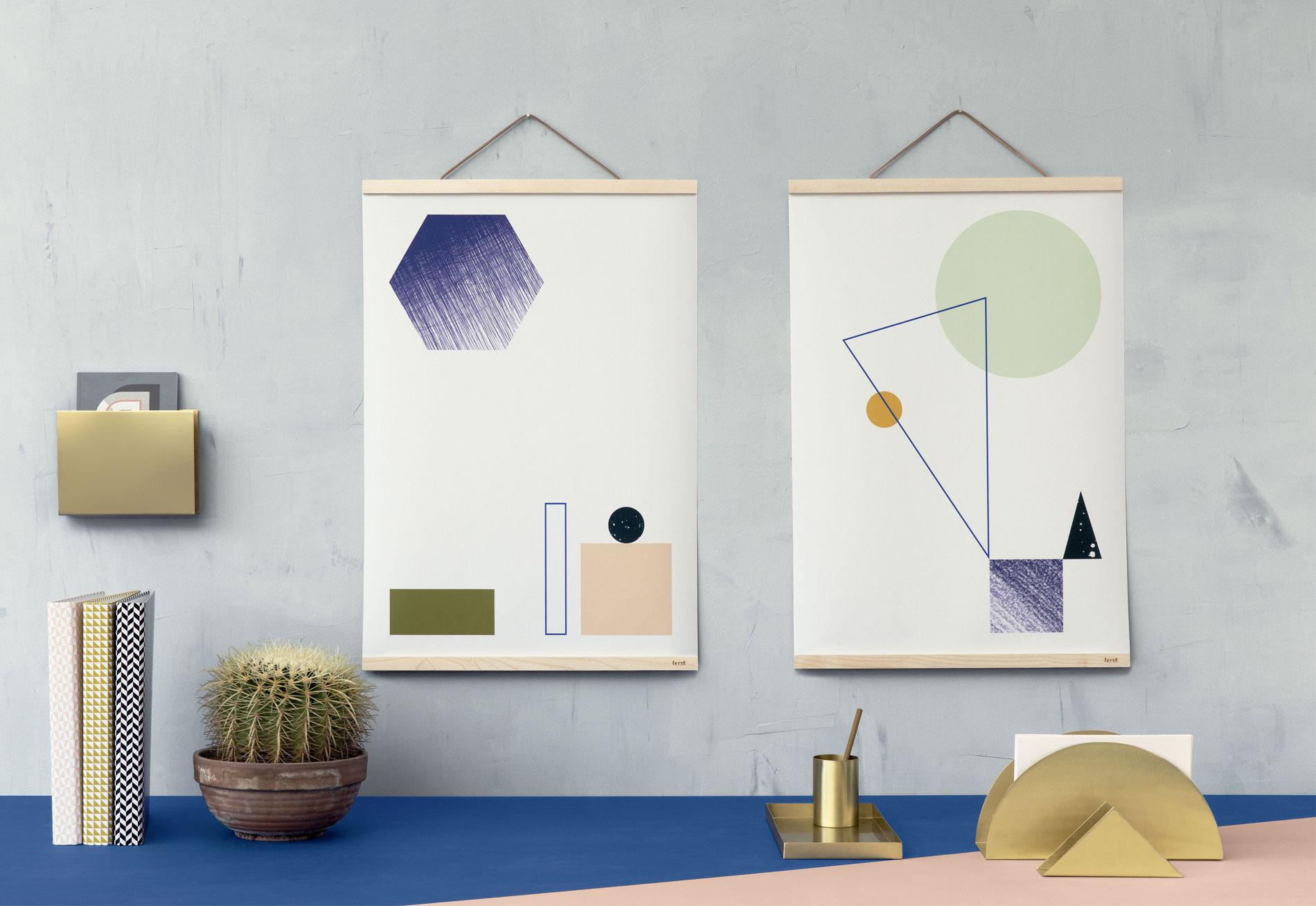 12x de mooiste posters voor in je interieur - Ferm Living