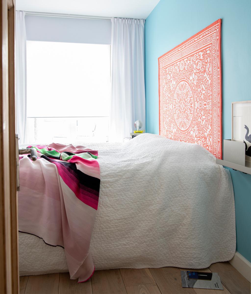 Kleurrijke slaapkamer | vtwonen