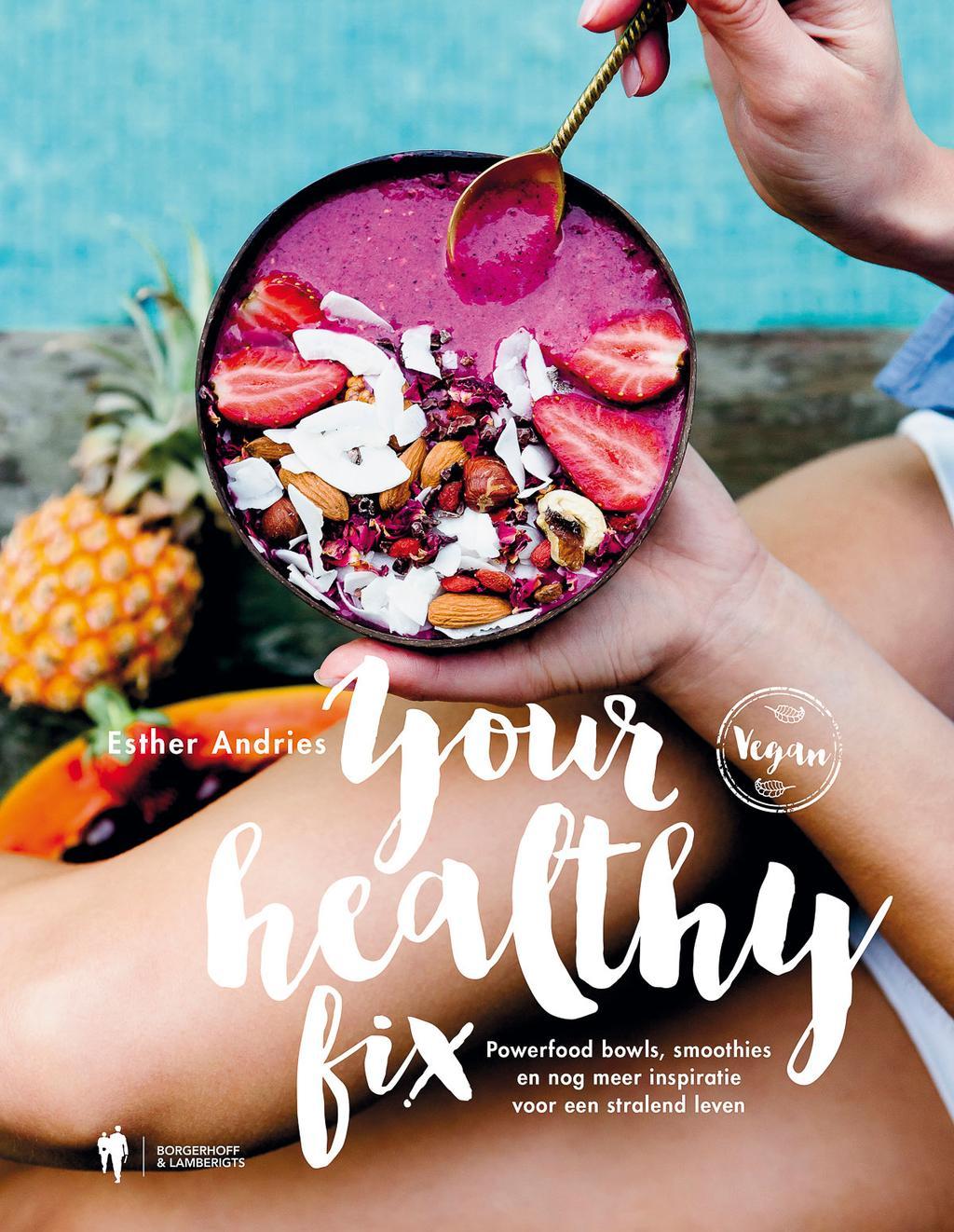 Cover van kookboek Your Healthy Fix