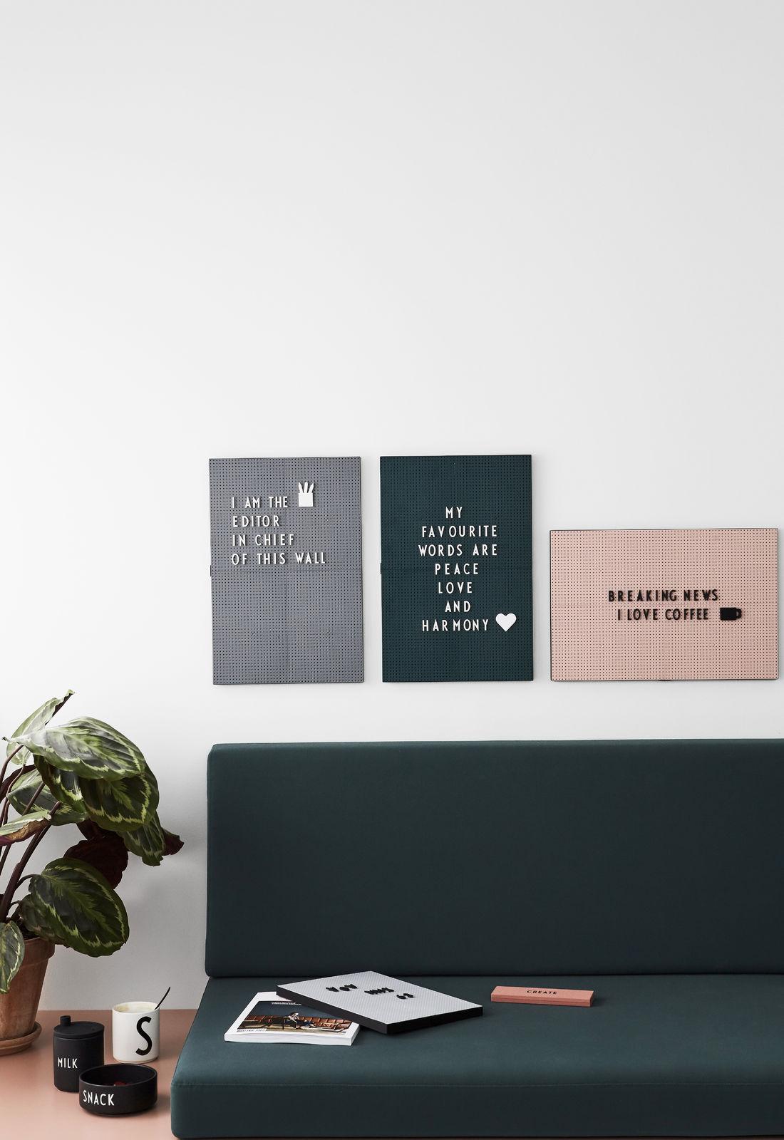 Feestkalender Design Letters