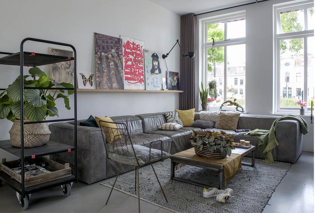 Binnenkijken in een gedateerd herenhuis in Rijswijk - vtwonen nr. 01 2019