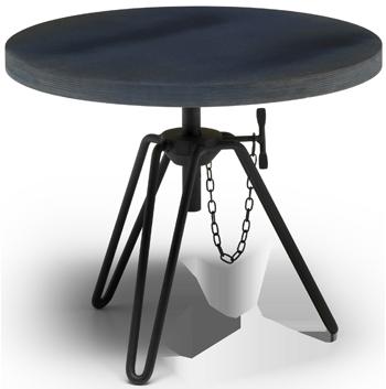 zwarte tafel Diesel Moroso