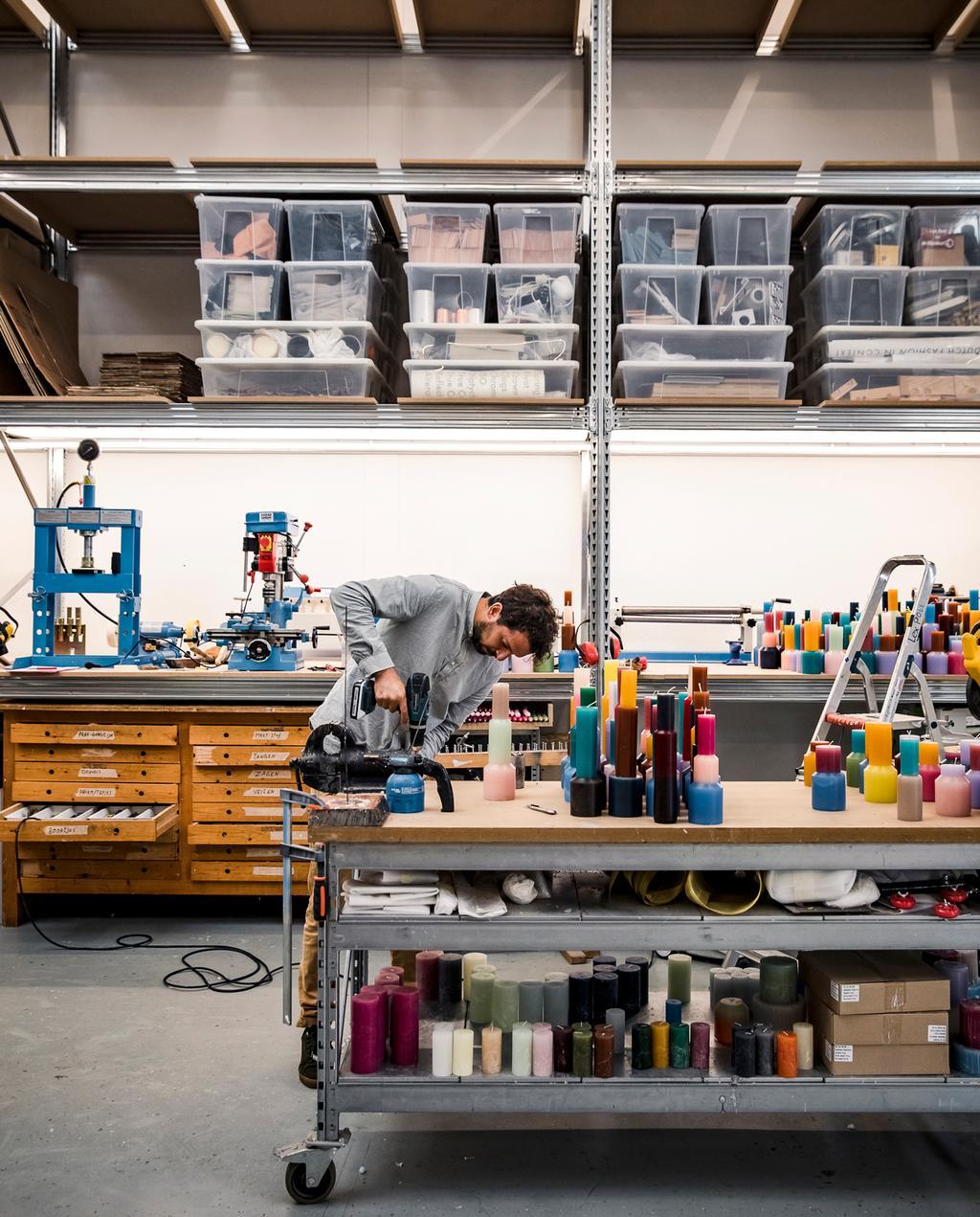 vtwonen 11-2019 | Ambacht Lex Pott atelier werkplaats