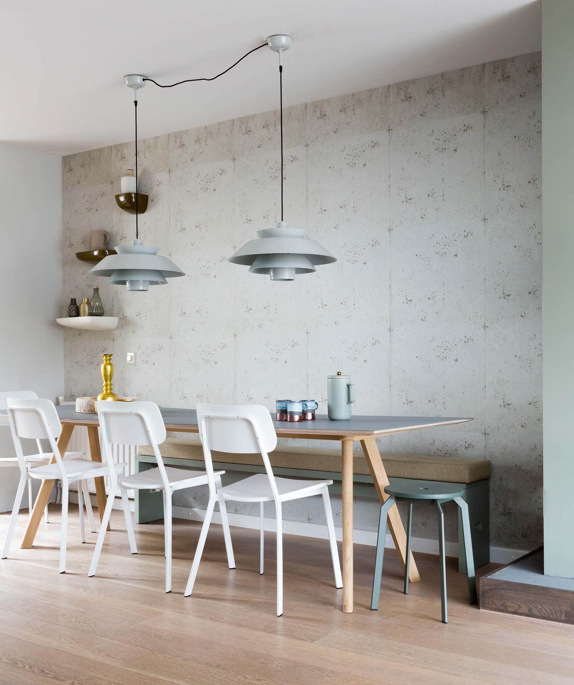 beton behang