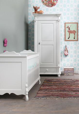 Kleurinspiratie voor de babykamer