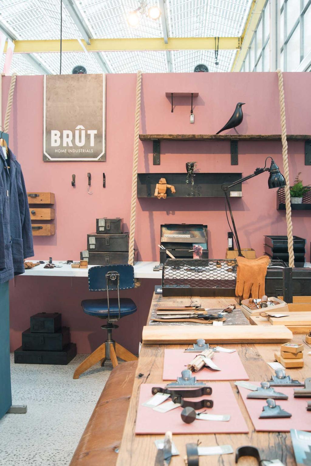 Nieuwe collectie Brût Home industrials op showUP met REMADE with love
