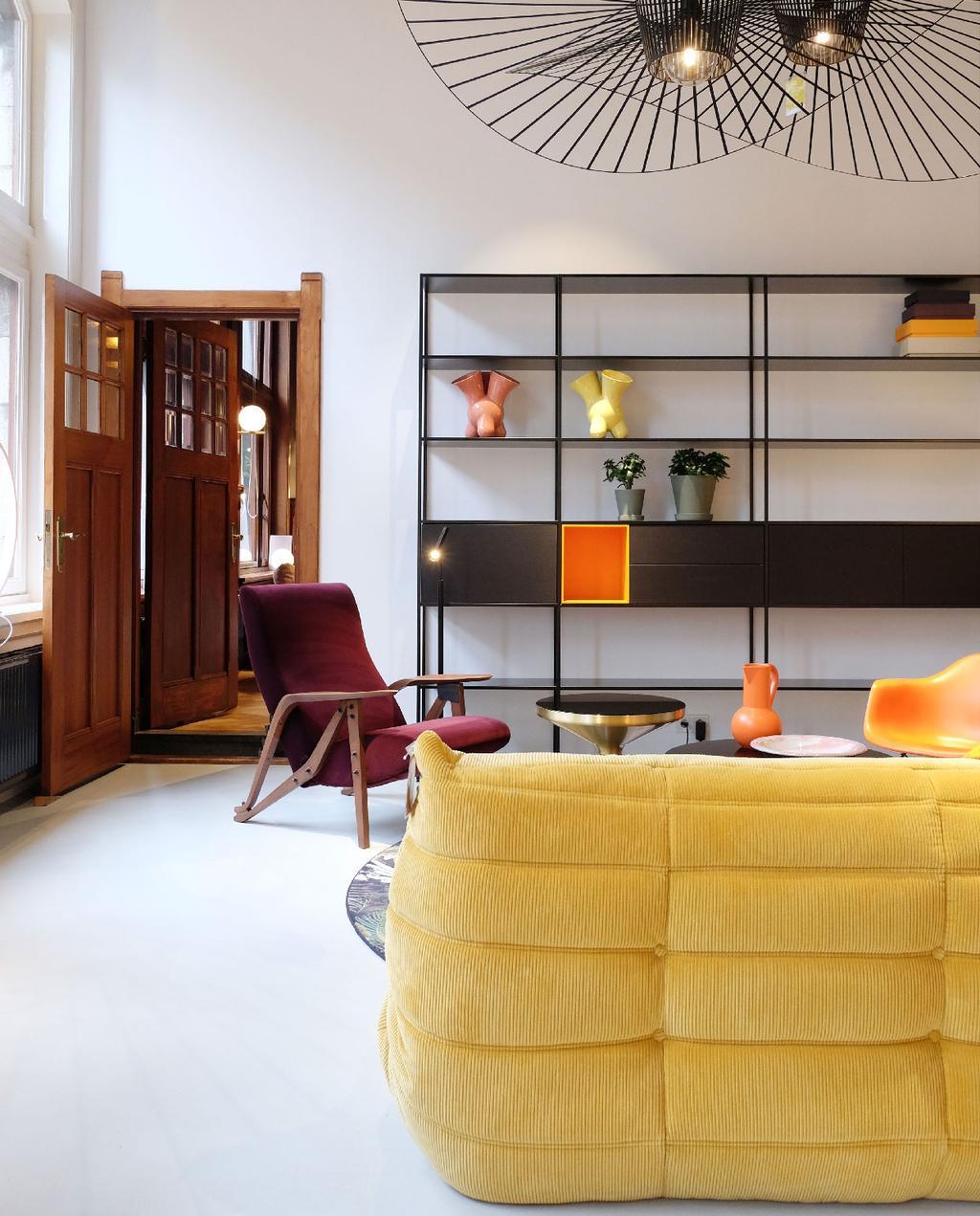 vtwonen blog prchtg | carlos in huis deventer gele ligne roset