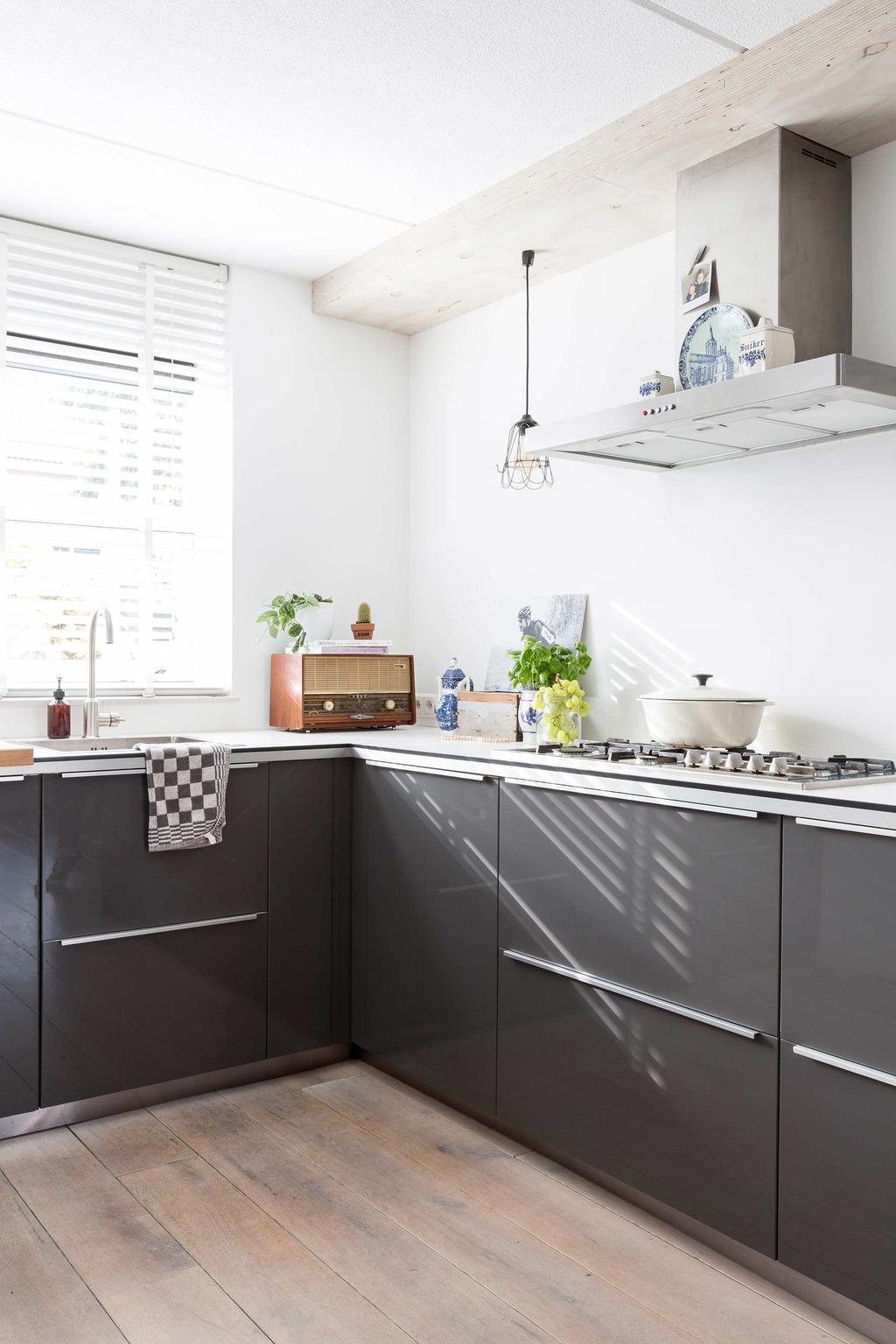 grijze keuken