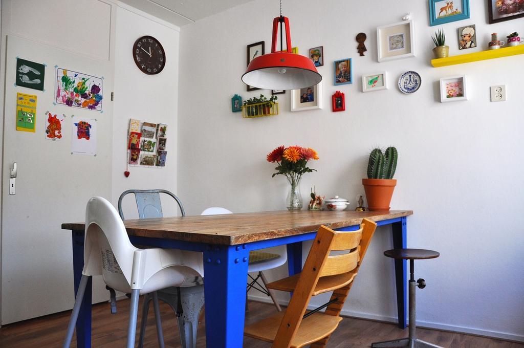 kleurrijke woning stuifzand