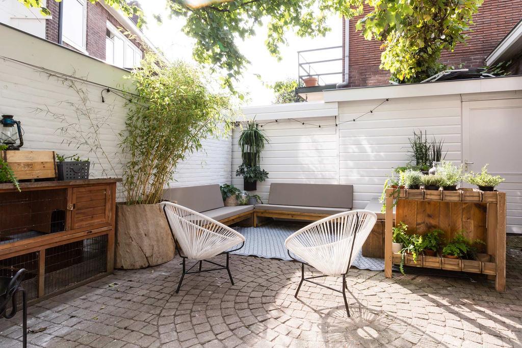 loungehoek tuin