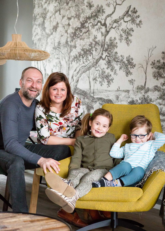 portretfoto van het gezin uit Monnickendam in aflevering 5