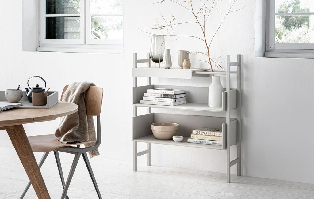 vtwonen 12-2019 | DIY flexibel kastje gedecoreerd tafel