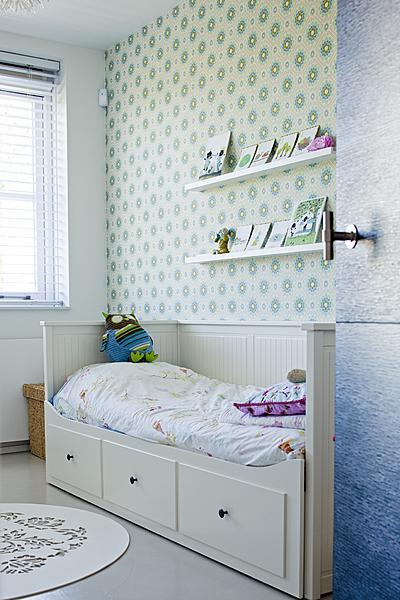 Kinderkamer behang retro behang