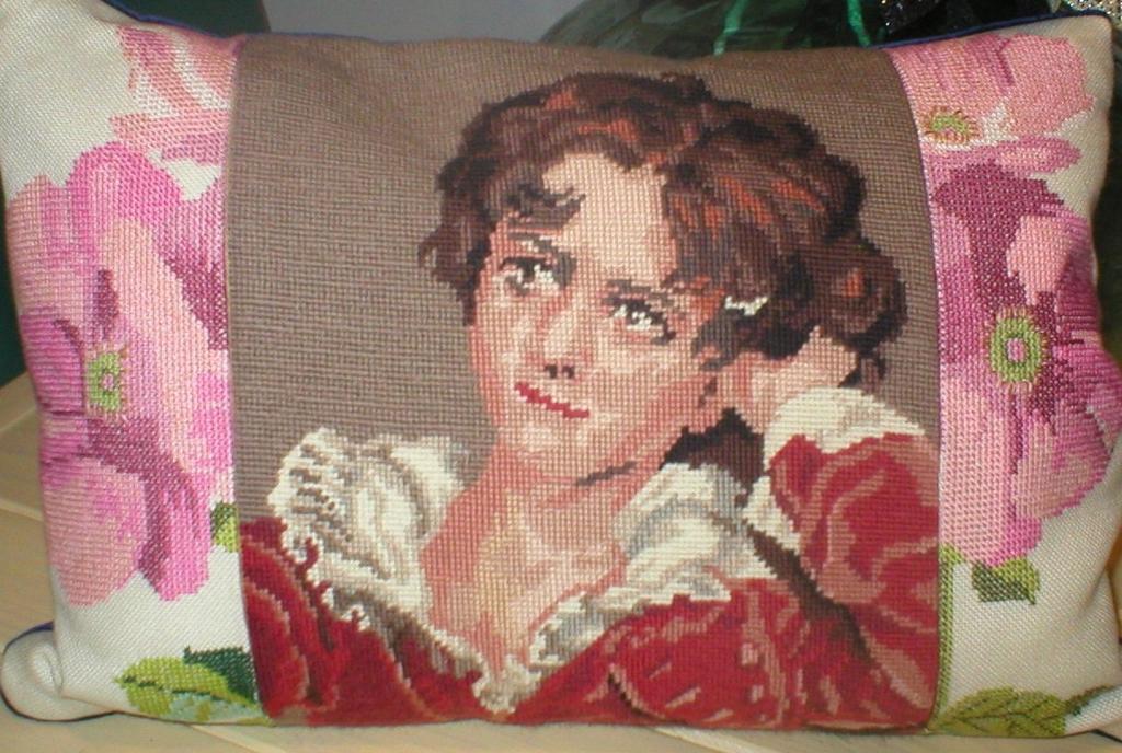vintage borduurwerken hergebruik