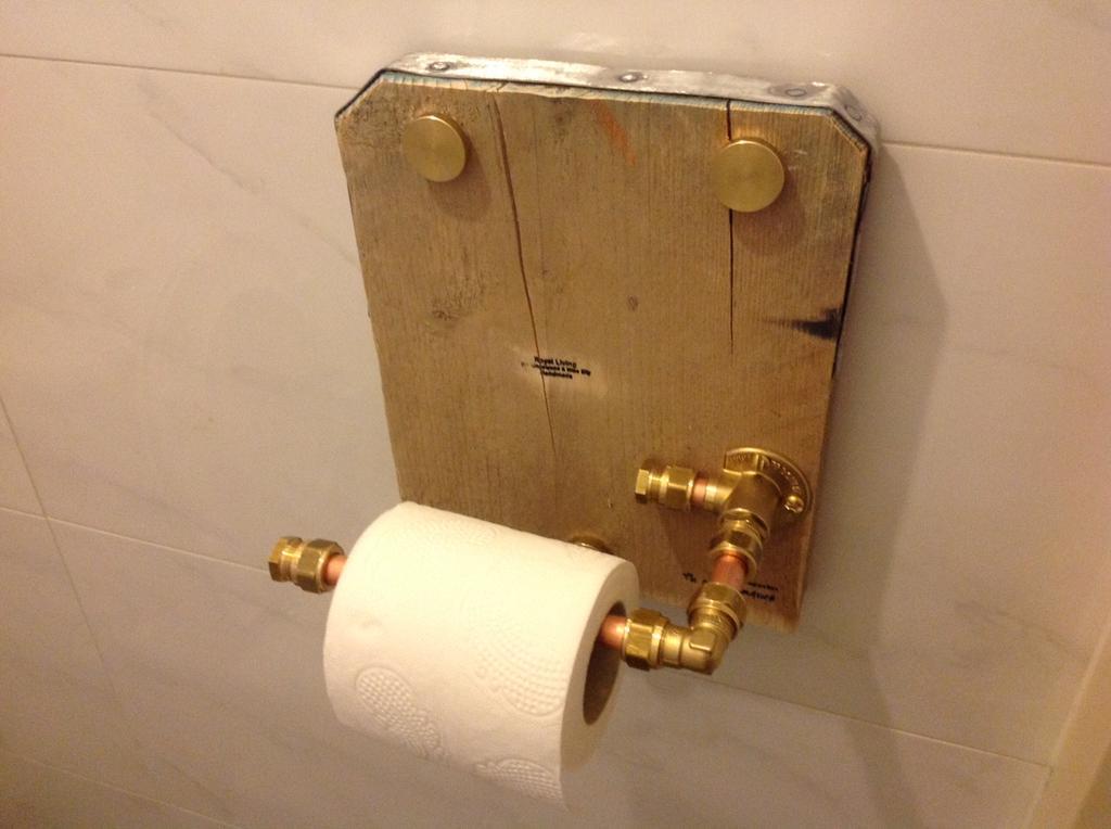 wc rolhouder maken