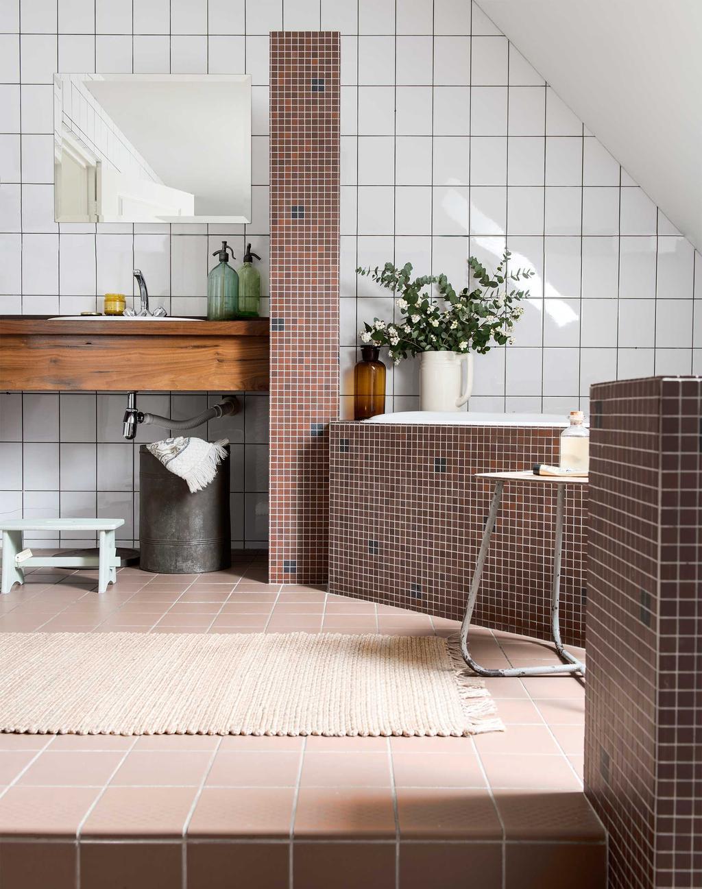 mozaïektegels badkamer