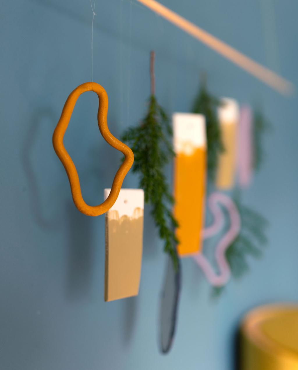 vtwonen | Blog My Attic DIY hanger kerst kleuren