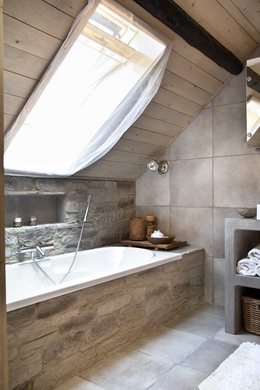 badkamer velux ligbad