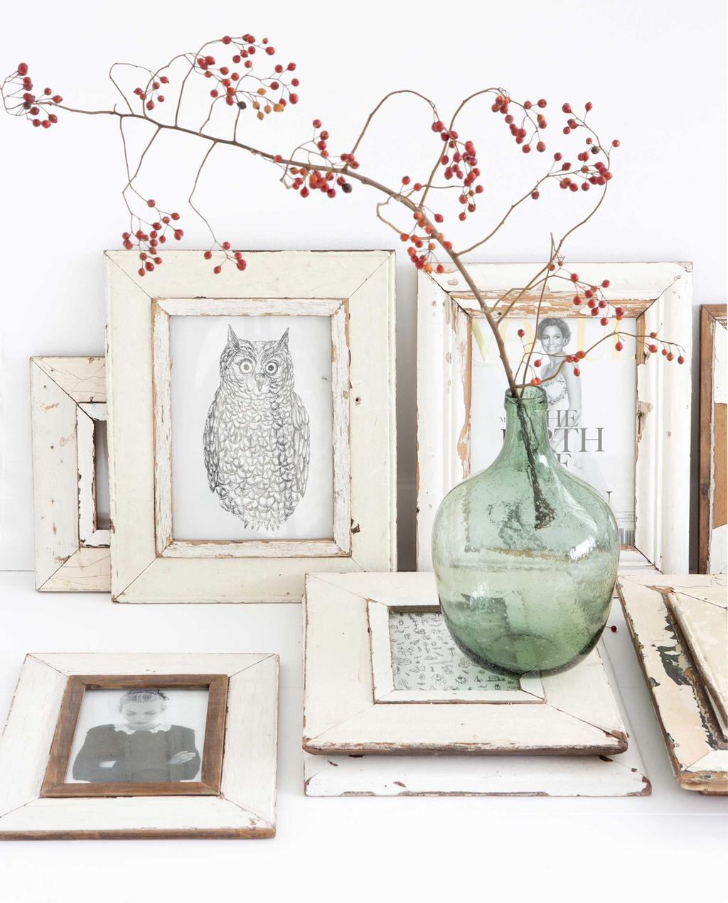 fotolijstjes wit hout