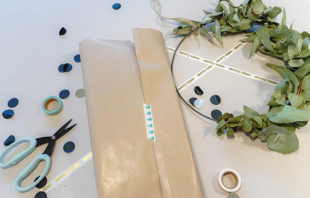 kerstpakjes inpakpapier