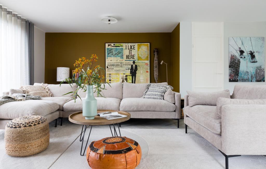 vtwonen weer verliefd op je huis | seizoen 12 aflevering 1 | Frans in Den Bosch woonkamer