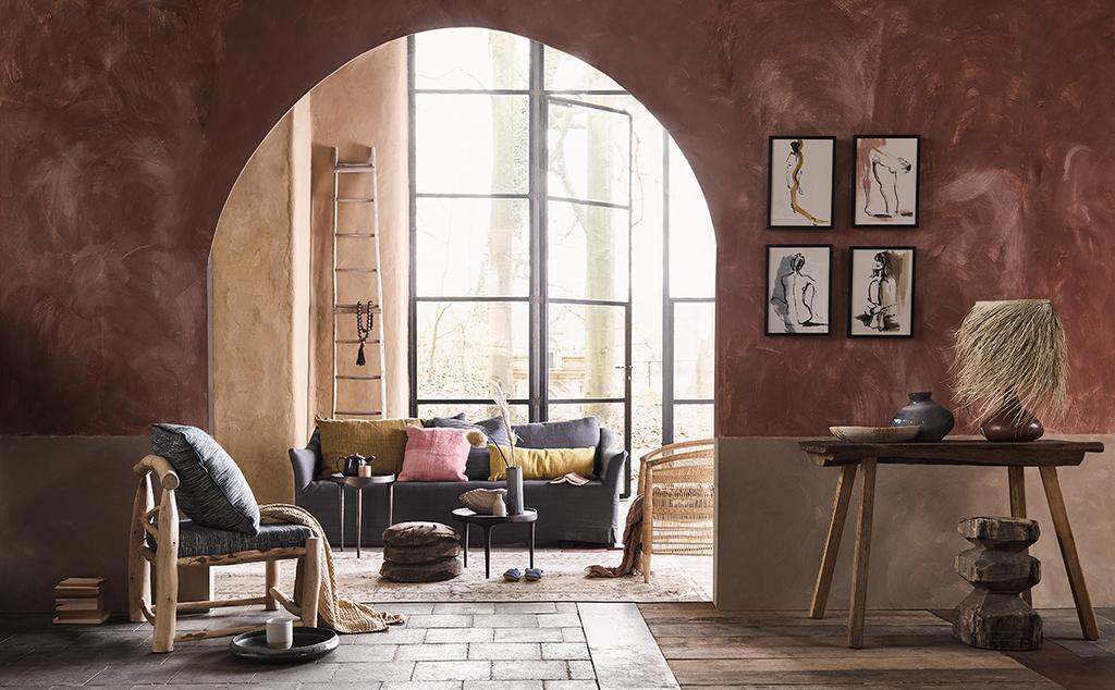 vtwonen styling editie 6 woestijnkleuren woonkamer