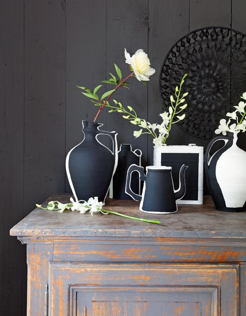 zwart-wit accessoires