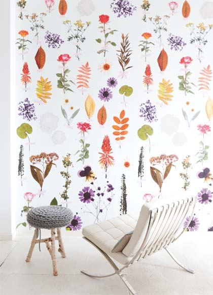 Fabulous behang botanisch