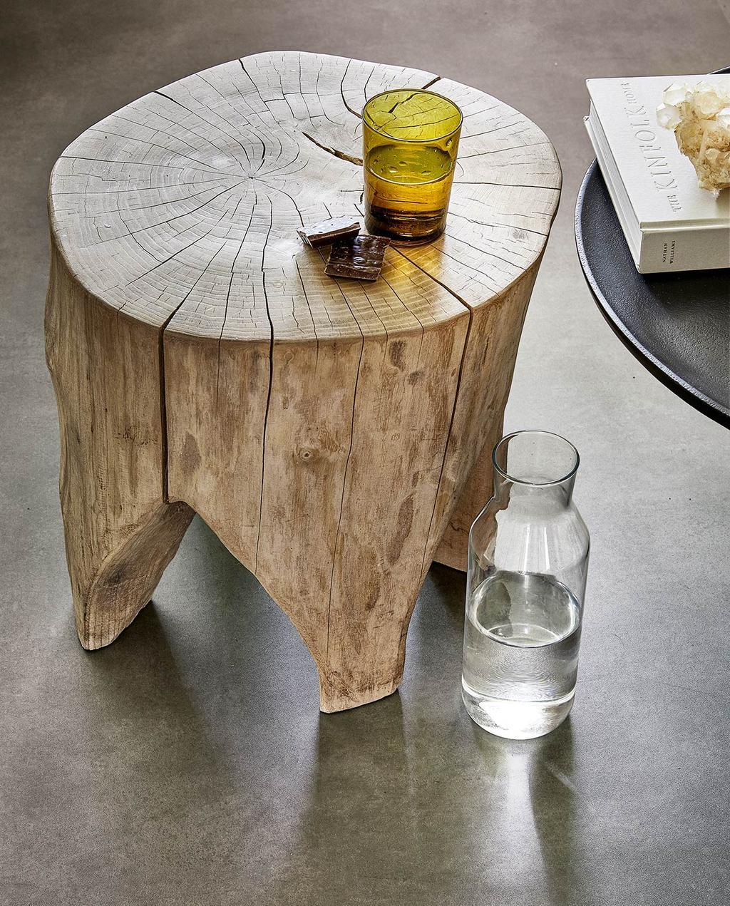 vtwonen 07-2021 | houten bijzettafel landelijk