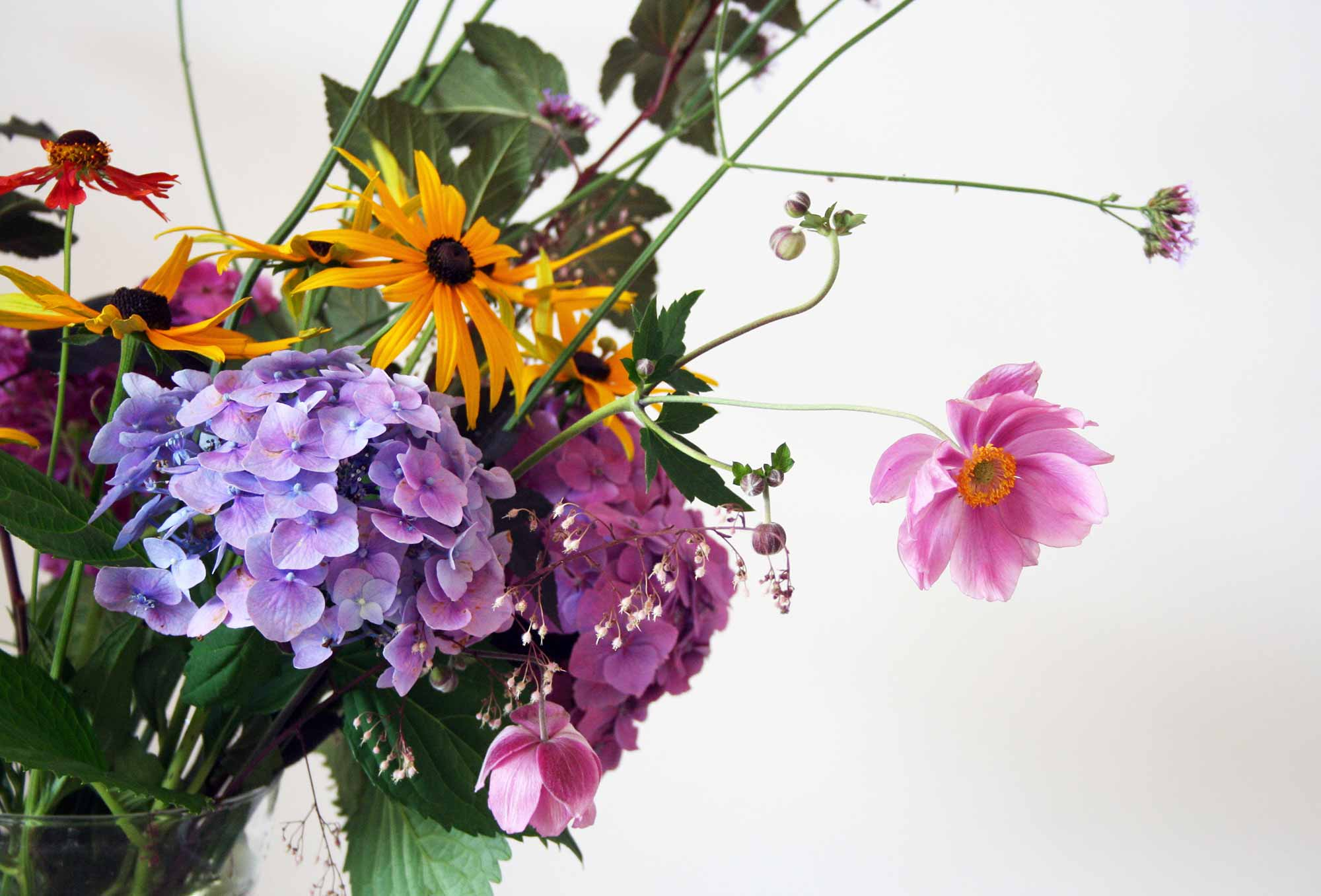 bos bloemen boeket