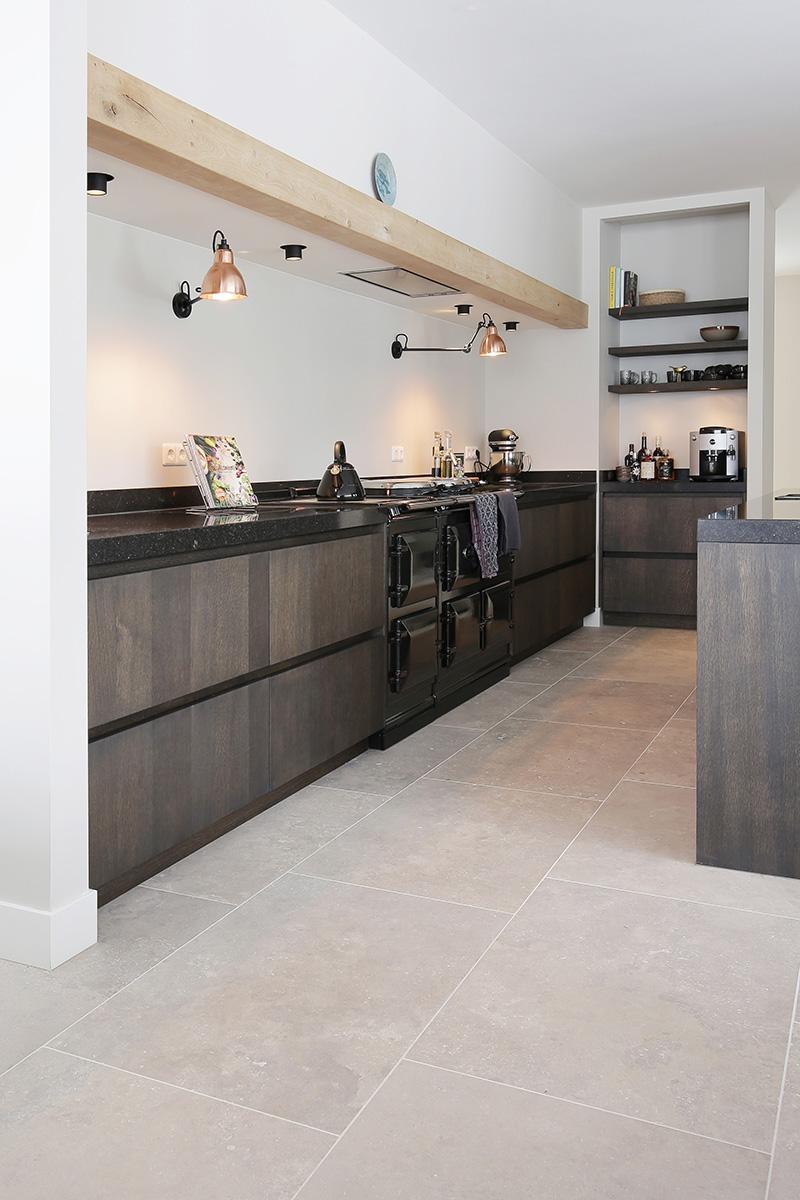 vloer landelijk de opkamer keuken natuursteen