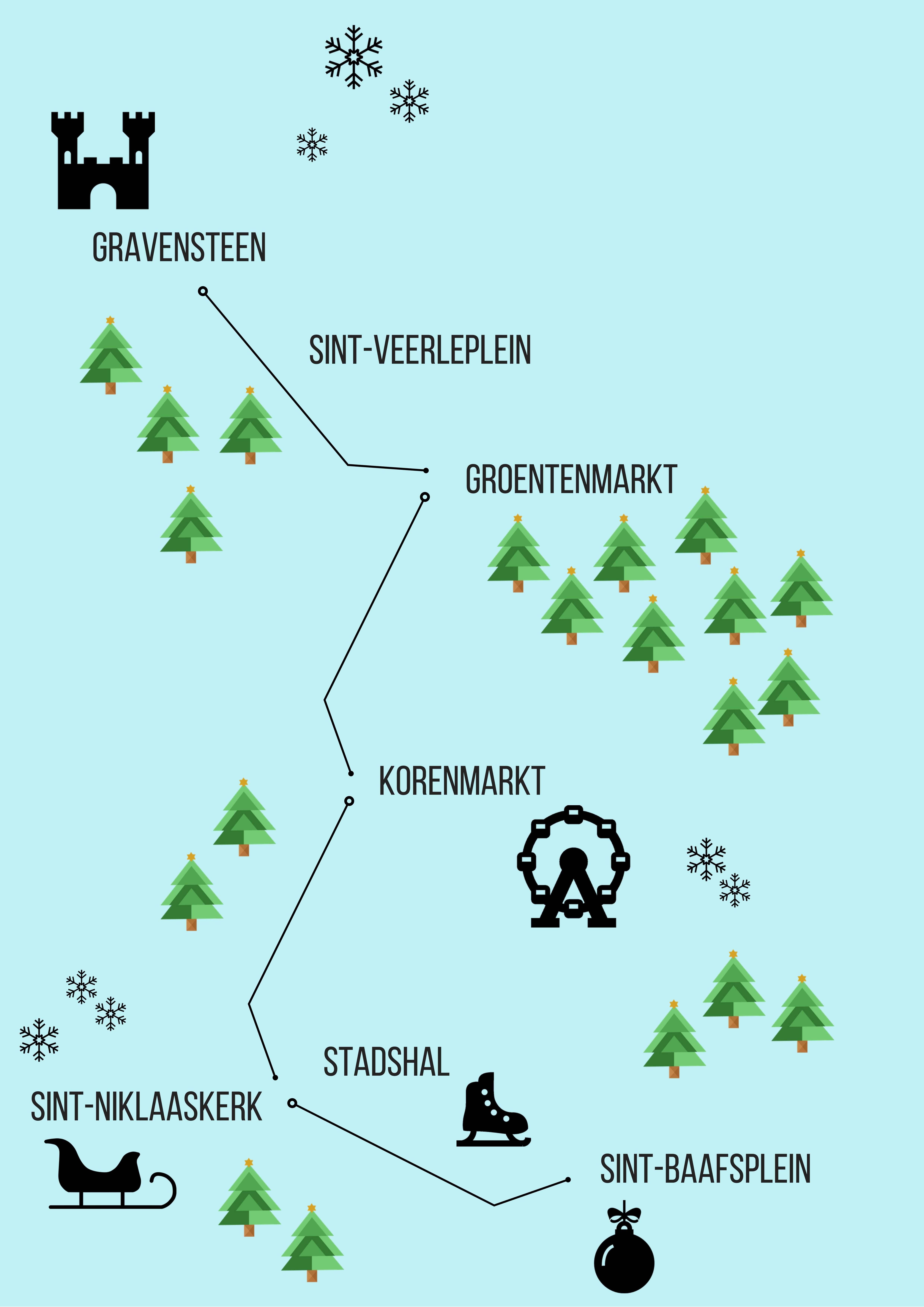 gent route kerst